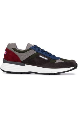 Church's Colour block lace-up sneakers