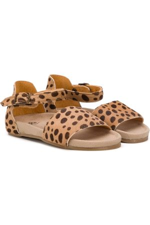 PèPè Leopard print sandals