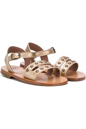 Pèpè Mädchen Sandalen - Studded open-toe sandals