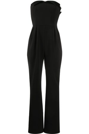 Moschino Damen Jumpsuits - Strapless pleated jumpsuit
