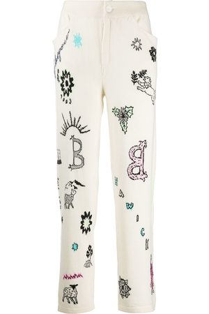 Barrie Boyfriend Symbols trousers