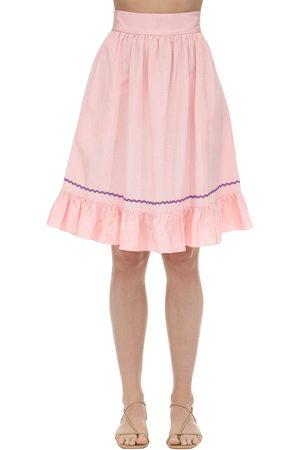 BATSHEVA Praire Moiré Skirt