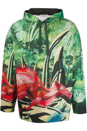 VALENTINO Red Dragon print hoodie