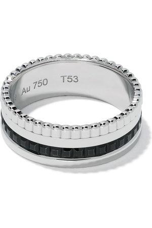 Boucheron Ringe - 18kt white gold Quatre Black small ring