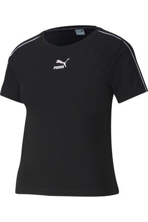 Puma Classics Croptop Damen in black
