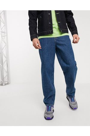 ASOS Baggy jeans in mid wash