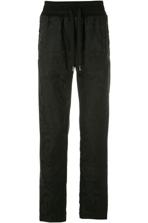 Dolce & Gabbana Herren Jogginghosen - Floral jacquard track pants