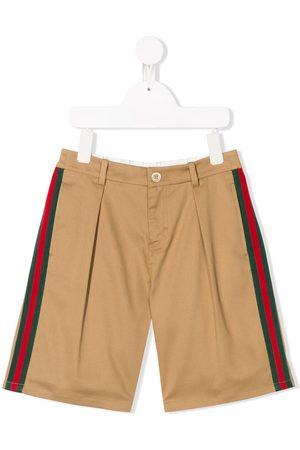 Gucci Web striped shorts
