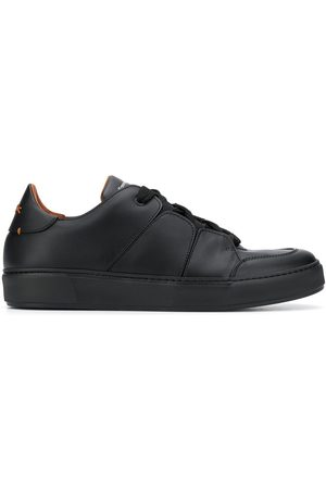 Ermenegildo Zegna Stitched-panel low-top trainers