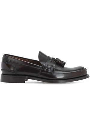 Church's Binder Fumè Glossy Leather Loafers