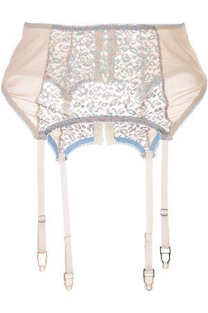 Kiki de Montparnasse Damen Panties - Tiger Lily garter belt