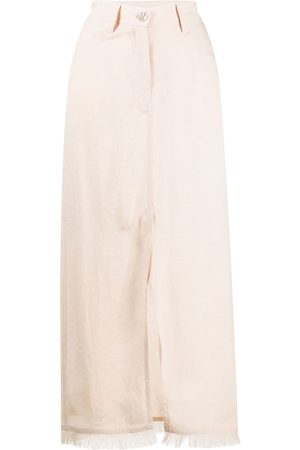 Nanushka Decorative pocket maxi skirt