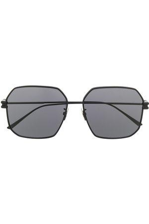 Bottega Veneta Geometric-frame sunglasses