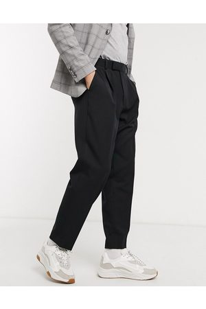 ASOS Oversized tapered smart trousers in