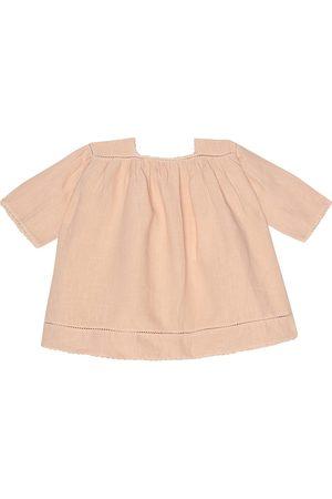 Caramel Baby Kleid Wimbledon aus Leinen