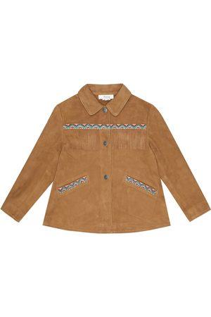 BONPOINT Jacke Cheyenne aus Veloursleder