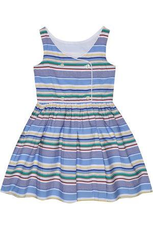 Ralph Lauren Gestreiftes Kleid aus Baumwolle