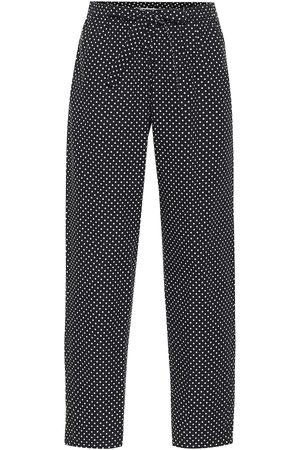 UNDERCOVER Hose aus Baumwolle mit Polka-Dots