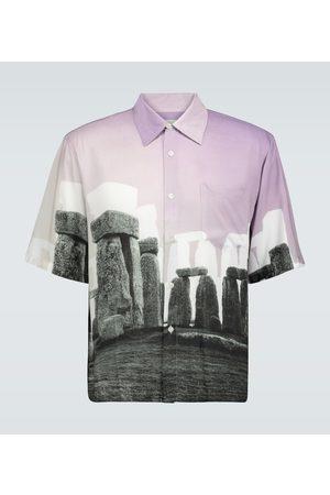 ARIES Kurzarmhemd Stonehenge