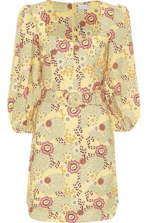 Rebecca Vallance Damen Freizeitkleider - Minikleid Sahara mit Leinenanteil