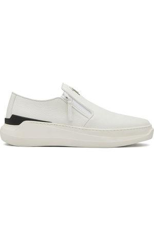 Giuseppe Zanotti Conley zipped low-top sneakers