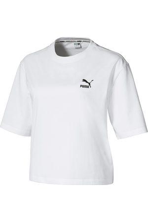 Puma Damen Shirts - Tailored for Sport T-Shirt Damen in white- black