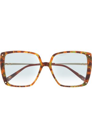 Missoni Oversized abstract print sunglasses