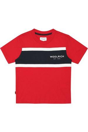Woolrich Jungen Shirts - Gestreiftes T-Shirt aus Baumwolle
