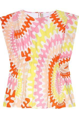 Emilio Pucci Bedrucktes Kleid aus Baumwolle