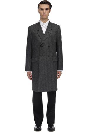 THE ROW Zweireihiger Mantel Aus Alpakawolle