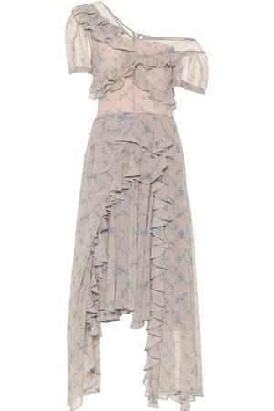 THORNTON BREGAZZI One-Shoulder-Kleid aus Crêpe