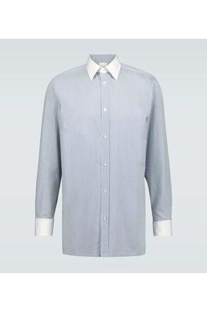 Maison Margiela Gestreiftes Hemd aus Baumwolle