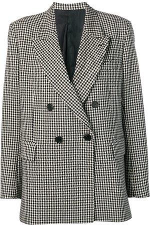 AMI Paris Damen Blazer & Sakkos - Houndstooth double-breasted blazer