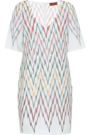 Missoni Damen Freizeitkleider - Minikleid aus Seide