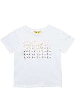 Golden Goose Kids Bedrucktes T-Shirt aus Baumwolle