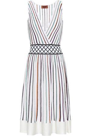Missoni Gestreiftes Kleid aus Strick