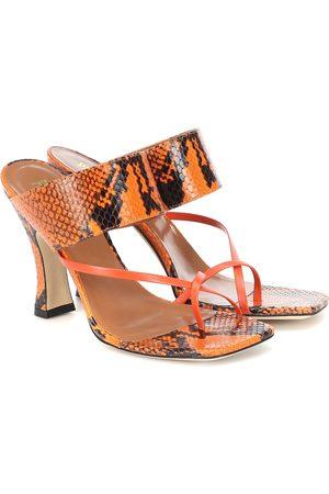 PARIS TEXAS Sandalen aus Leder
