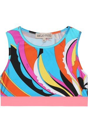 Emilio Pucci Bedrucktes Cropped-Top