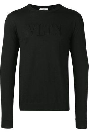 VALENTINO VLTN logo embossed sweatshirt