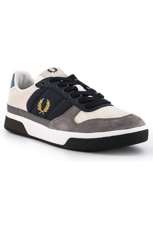 Fred Perry Herren Sneakers - Schuhe B300 Leather Suede Poly B8294/25