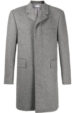 Thom Browne Mid-length chesterfield coat