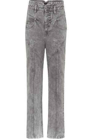 Isabel Marant Exklusiv bei Mytheresa – High-Rise Straight Jeans Anastasia