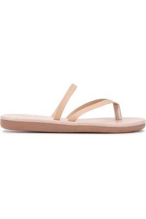 Ancient Greek Sandals Leather thong flip flops