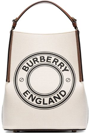 Burberry Small Penny logo tote bag