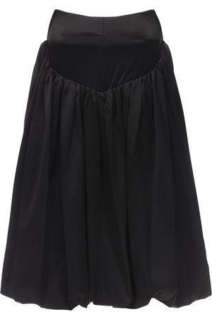 Patou Strapless Viscose Mini Dress