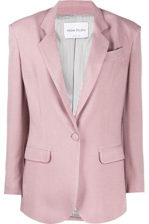 HEBE STUDIO Classic tailored blazer