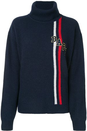 BAPY Ribbed roll-neck jumper