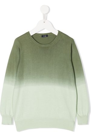 Il Gufo Ombré-effect cotton jumper