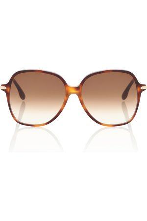 Victoria Beckham Runde Sonnenbrille
