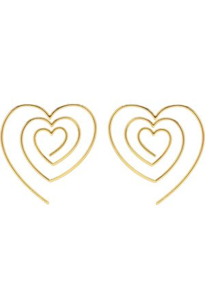 Y / PROJECT Herzförmige Ohrringe